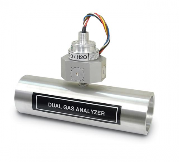Dual infrared gas analyzer